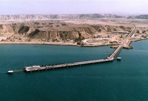 أحد موانئ الحرس الثوري على الخليج العربي