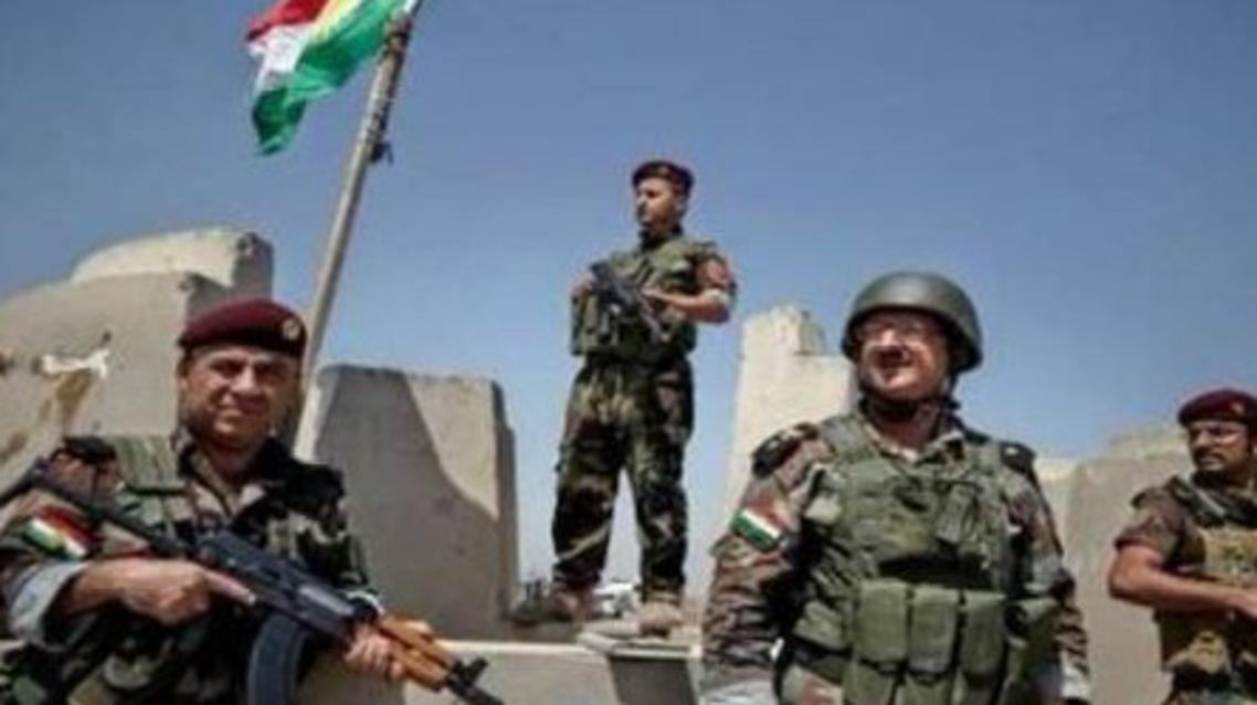 عناصر من البيشمركة العراق