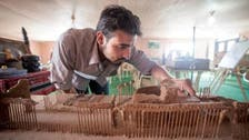 Syrian refugees recreate landmarks from home