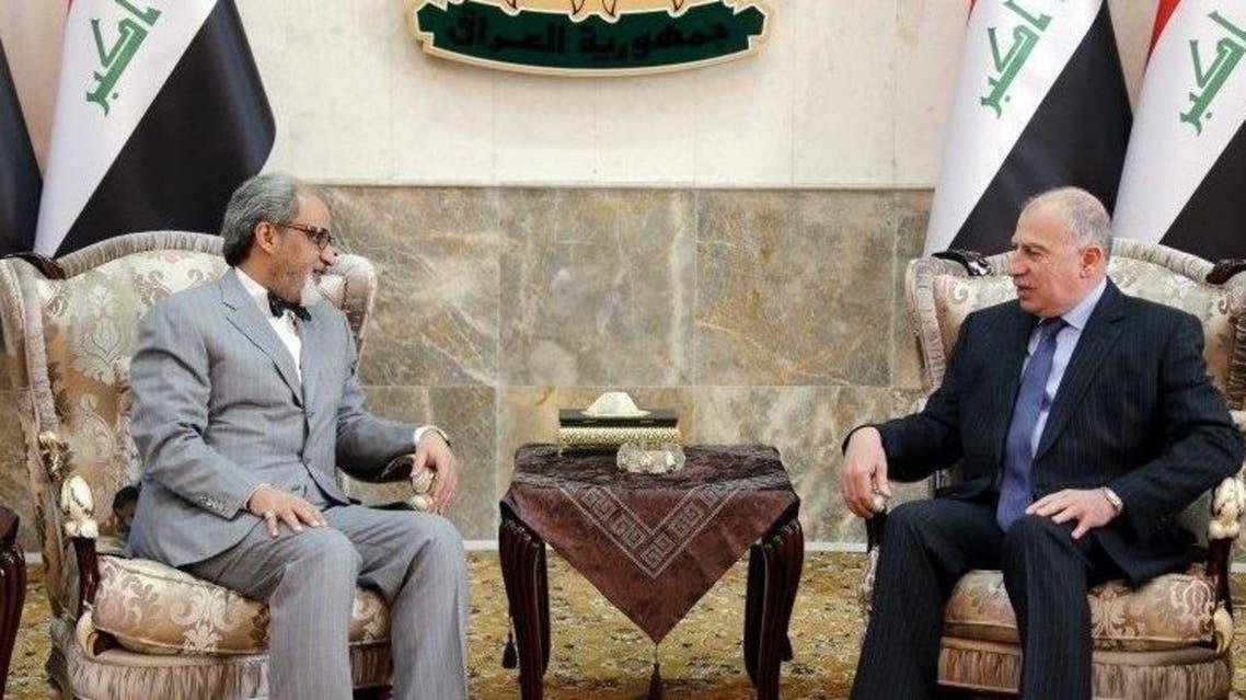 النجيفي مع السفير الكويتي