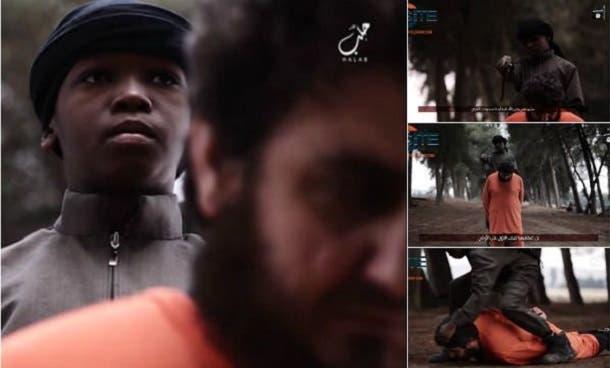 الطفل هدد أميركا ثم ذبح ضحيته