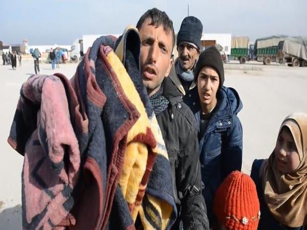 تركيا: تأمين 40 ألف لاجئ في مخيمات داخل أراضي سوريا