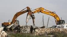EU urges Israel to halt demolition of Palestinian homes