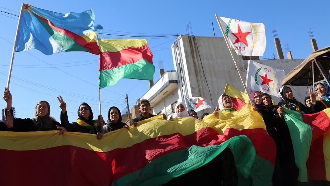 أكراد سوريا في القامشلي