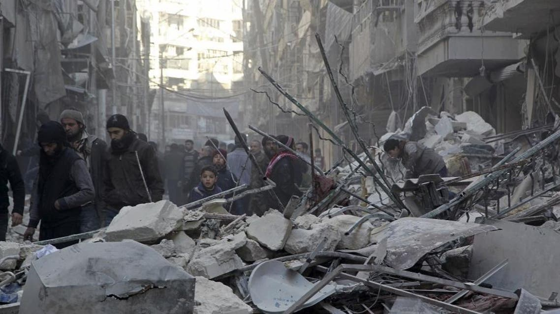 pro-Syrian, rebel, Aleppo (Reuters)