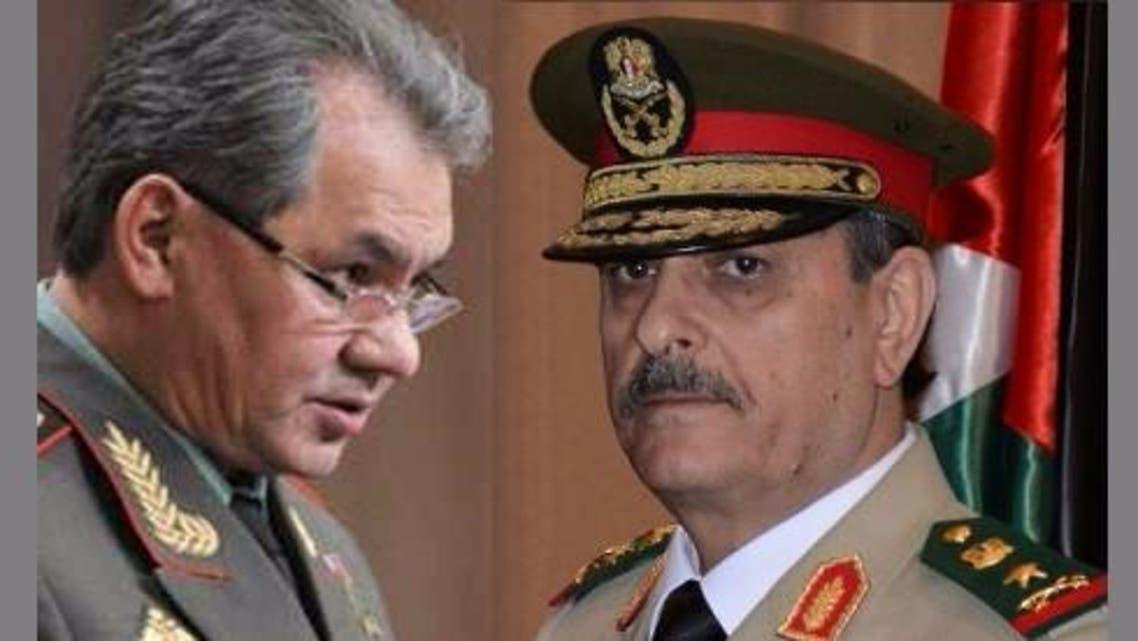 وزيري دفاع روسيا وسوريا