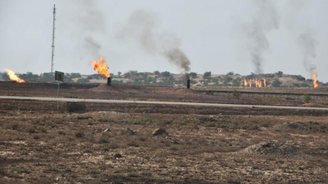 التلوث من حقول النفط
