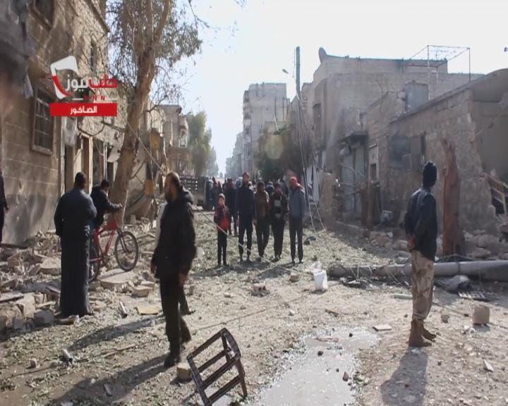 حلب تحولت إلى مأساة إنسانية