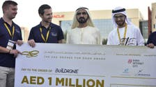 Dubai ruler honors UAE drones and robotics competition winners