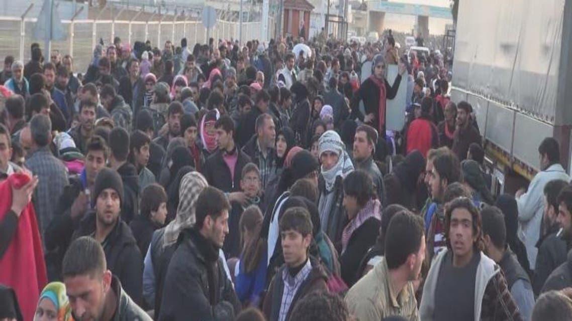 THUMBNAIL_ أكبر موجة نزوح للسوريين نحو حدود #تركيا