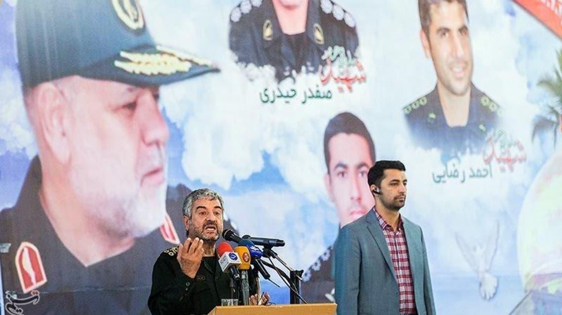 جعفري يتحدث بمراسم تشييع الجنرال قاجاريان و5 قتلوا في سوريا