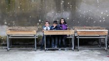 In Aleppo, underground schools face bombardments and burnout