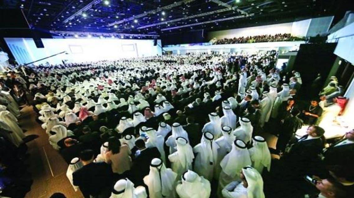 جانب من القمة الحكومية في دبي