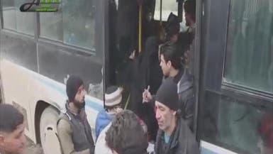 فيديو.. مئات العالقين على حدود تركيا يعودون لريف حلب