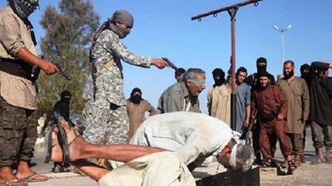 اعدامات داعشية الموصل