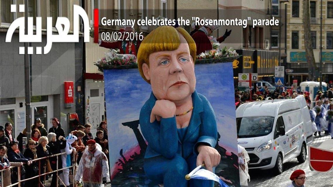"""Germany celebrates the """"Rosenmontag"""" parade"""