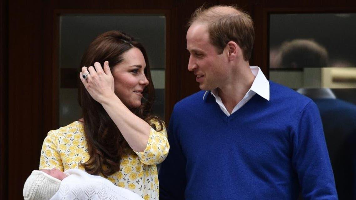prince williams, kate middleton (AFP)