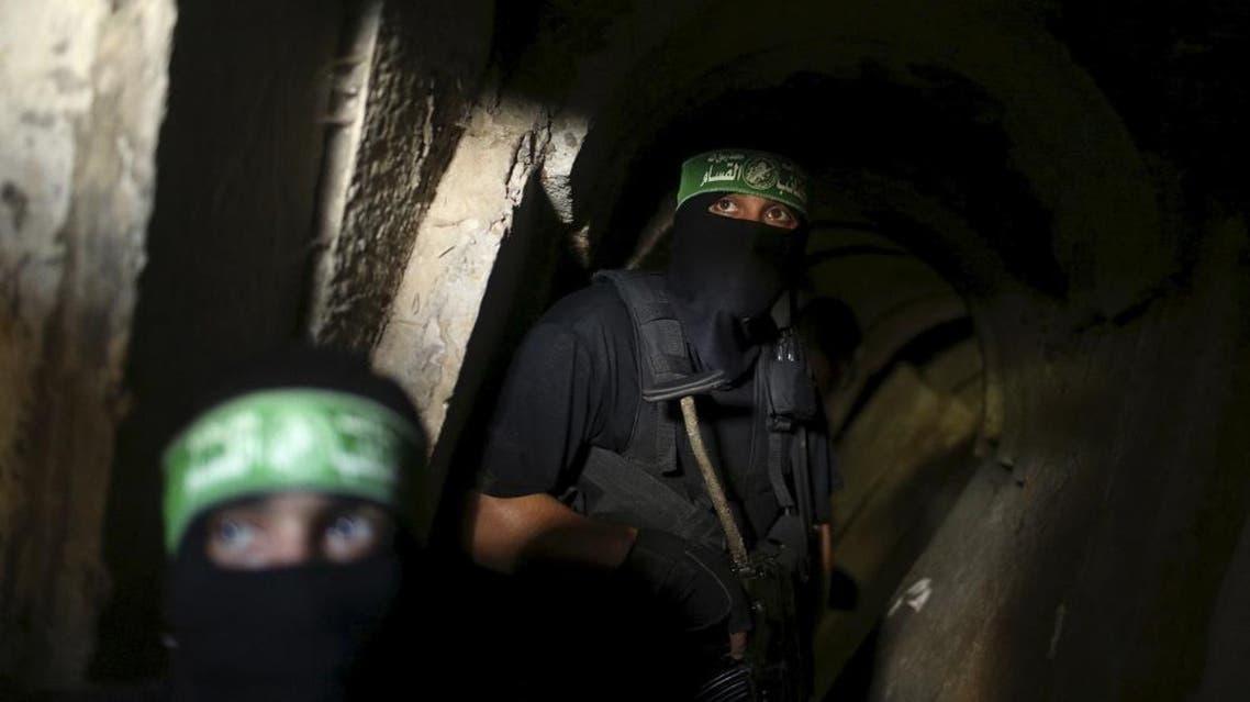 Gaza tunnel, Palestinian (Reuters)