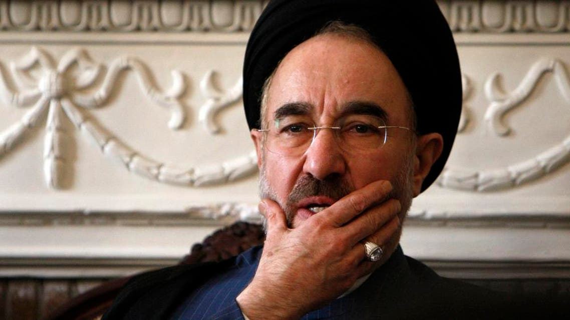 Khatami remains influential among reformist Iranians, and particularly among young people and women, although state media is banned from publishing his comments (AP)