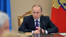 بوتين: تنظيم انتخابات بسوريا في أبريل لا يعيق السلام
