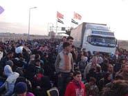 بالصور.. السوريون يهربون من الموت بحلب إلى المجهول