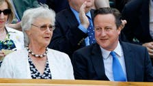 British PM's mother signs petition against cuts