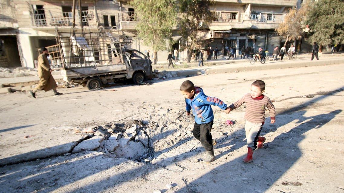 حلب قصف