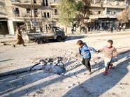 استمرار الغارات الروسية على قرى ريف حلب الشمالي