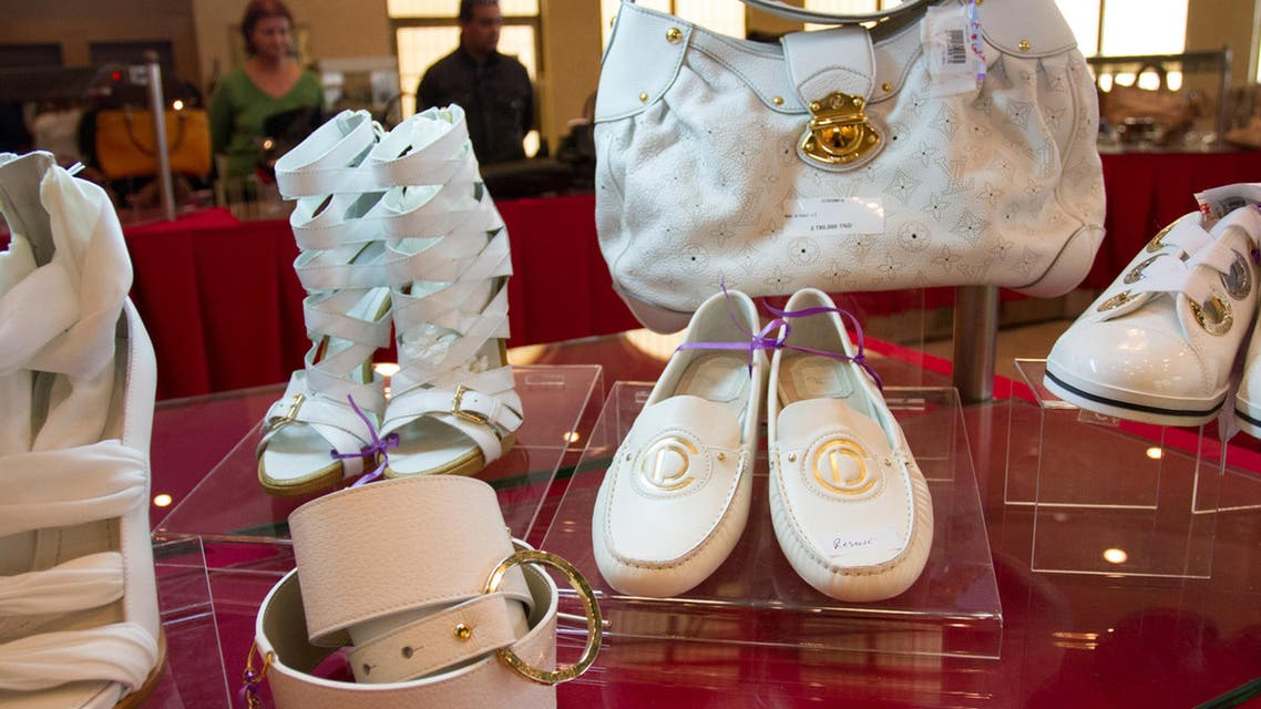 These luxury women's fashion accessories were also up for grabs (AP)
