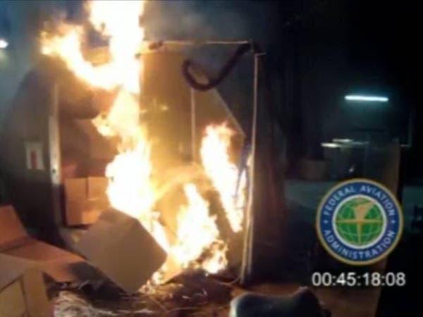 تحذير من مخاطر انفجار بطاريات الليثيوم في الطائرات