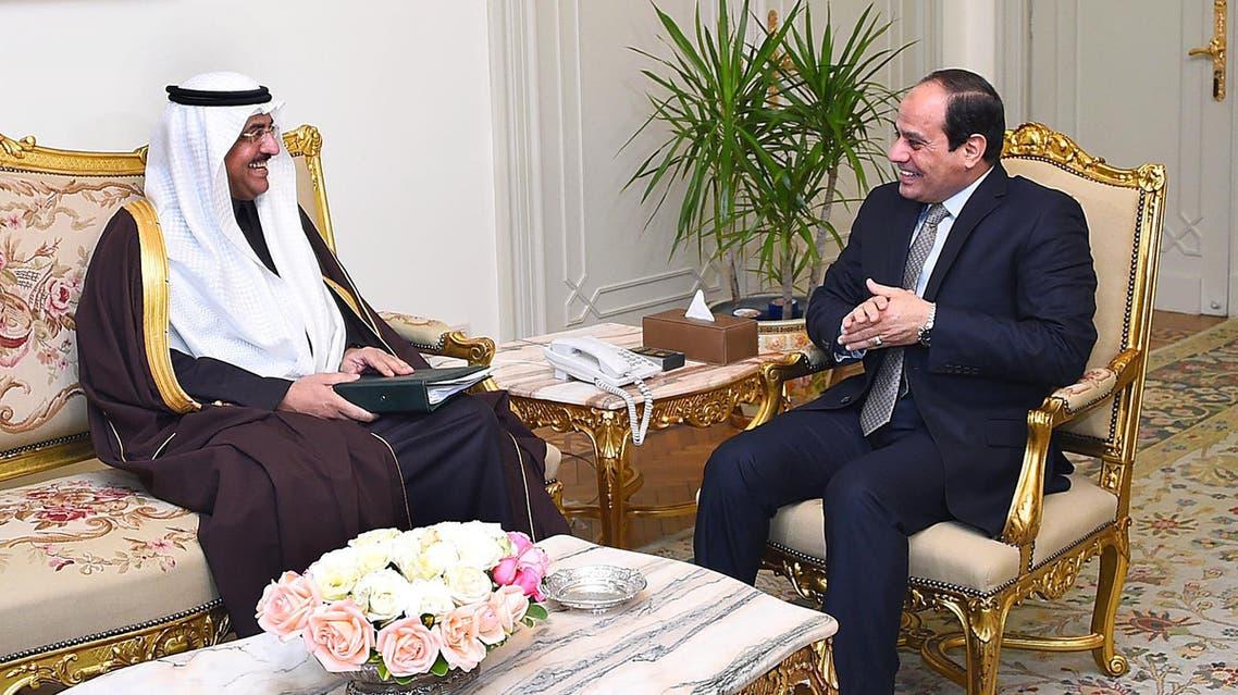 الرئيس السيسي يستقبل وزير الدولة السعودي عصام بن سعيد