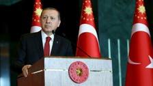 Erdogan scolds U.S. over support for Syrian Kurds