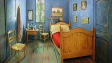 Van Gogh's bedroom recreated in Chicago as Airbnb rental