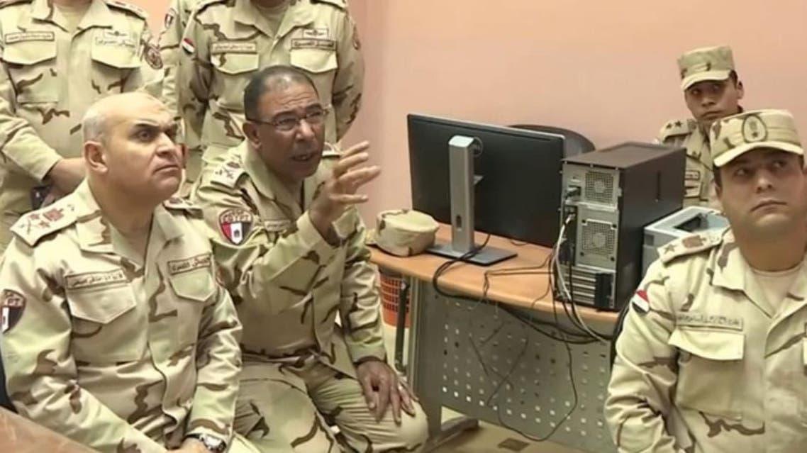 وزيرا الدفاع والداخلية يتفقدان قواتهما بسيناء