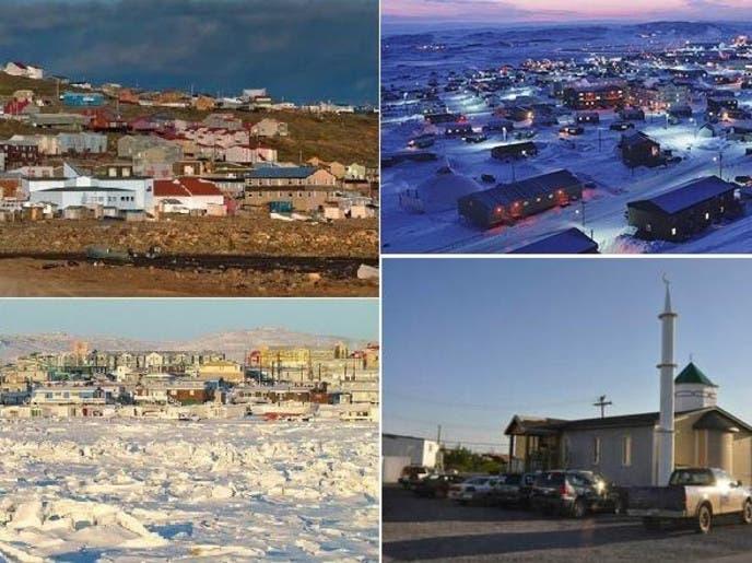 المدينة صيفا وشتاء، ليلا ونهارا، وصورة للمسجد المقرر تدشينه اليوم الجمعة