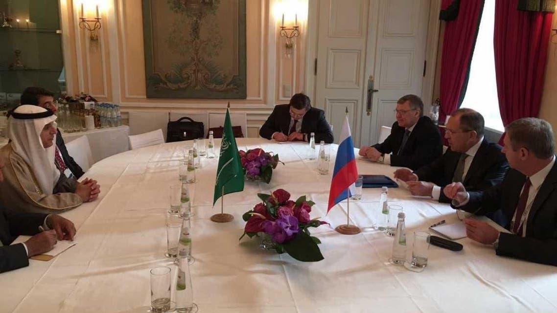 الجبير يلتقي لافروف على هامش مؤتمر ميونيخ للأمن