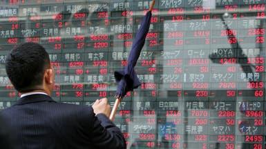 أسهم اليابان تنخفض مقتفية أثر خسائر وول ستريت