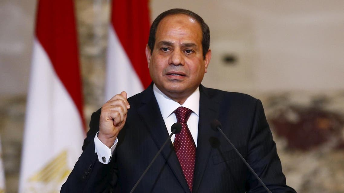 Sisi was giving his first speech in front of the newly convened parliament, which ended a four-year legislative hiatus. (File photo: Reuters)