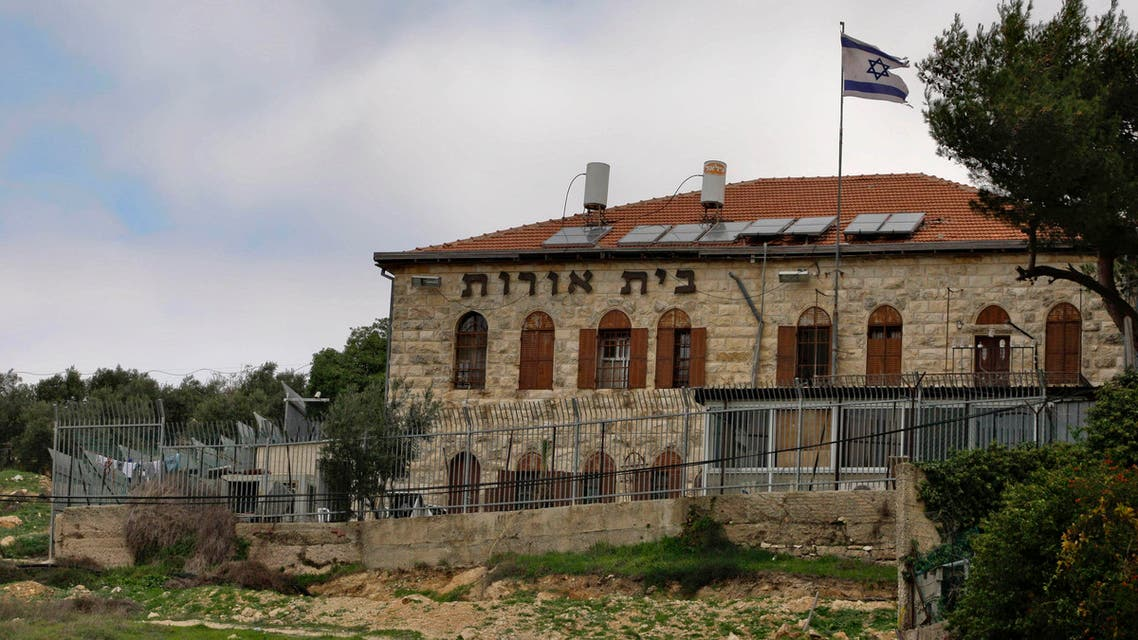 This is a file photo taken on Jan. 5, 2010, of Beit Orot Yeshiva, a religious school in the neighborhood of Atur in east Jerusalem. Israeli settlers said Wednesday, Dec. 15, 2010 AP