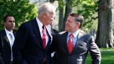 Jordan king in talks on Syria conflict with Biden