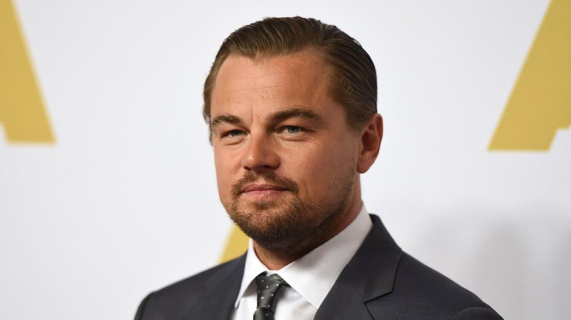 Leonardo DiCaprio arrives at the 88th Academy Awards Nominees Luncheon at The Beverly Hilton hotel on Monday, Feb. 8, 2016, in Beverly Hills, California. (AP)