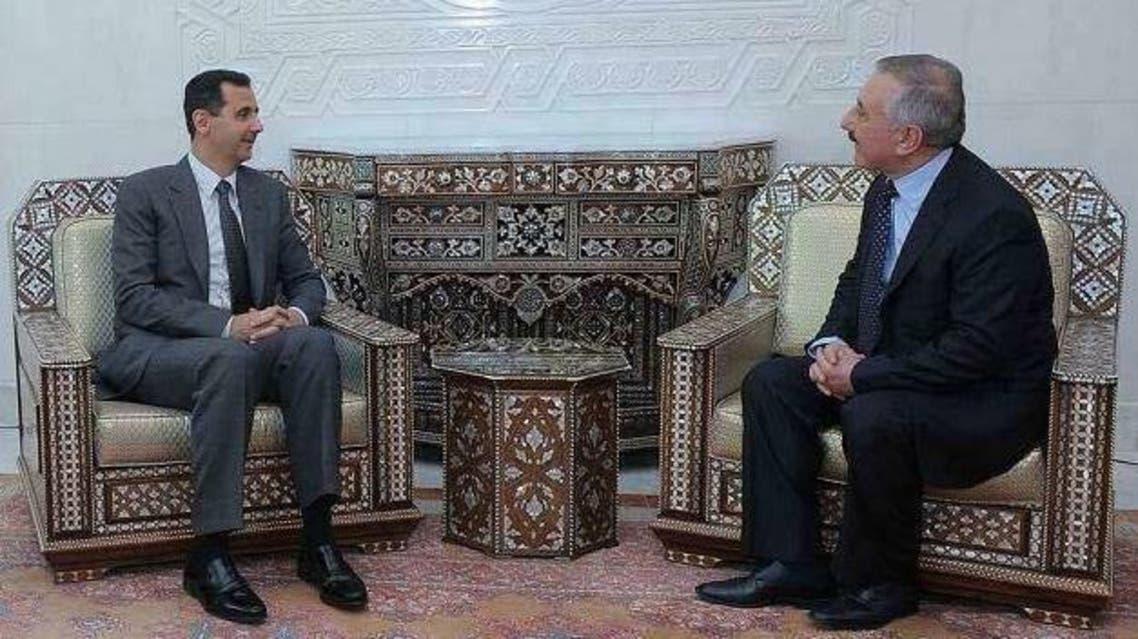 بشار الأسد بهجت سليمان