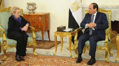 السيسي: علاقة مصر وأميركا تقوم على الاحترام المتبادل
