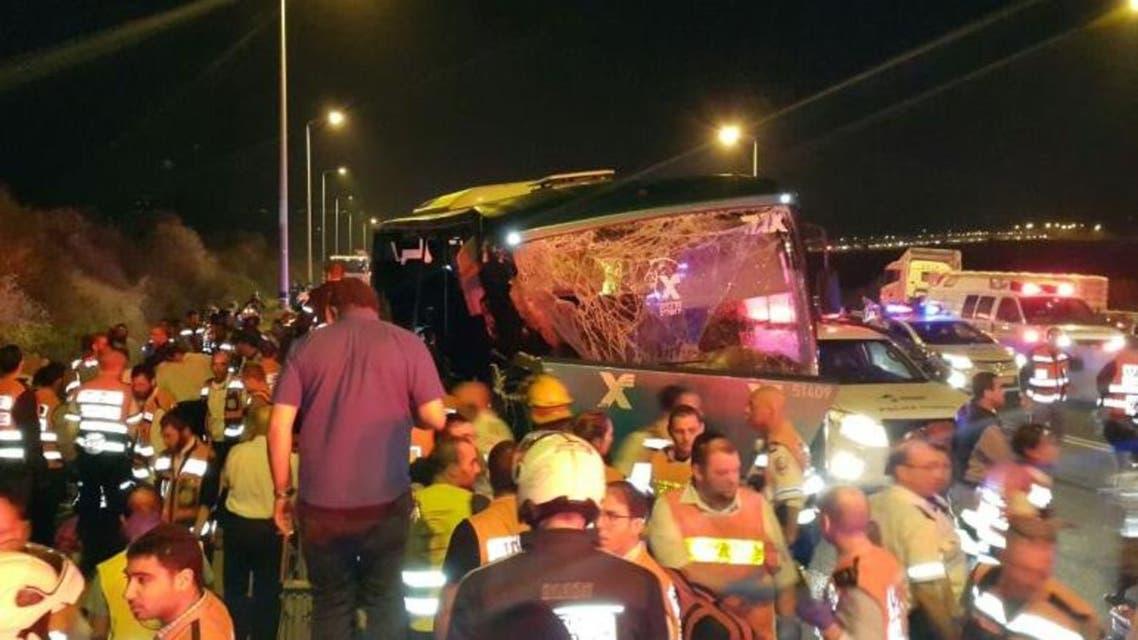 حادث سير إسرائيل