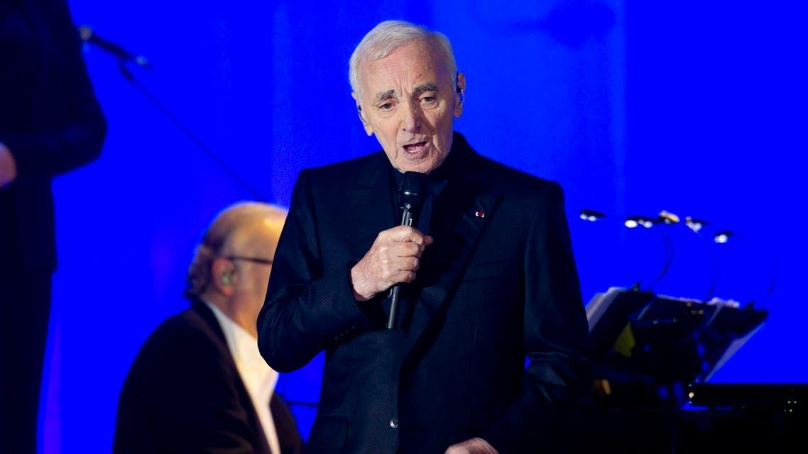 Aznavour mesmerizes audiences with his powerful performance. (Photo courtesy: DWTC)