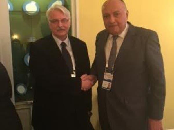 شكري لنظيره البولندي: مصر آمنة وتنتظر السياح الأجانب