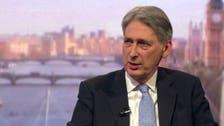 هاموند: خروج بريطانيا من الاتحاد سيكون بلا رجعة