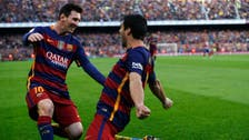Messi passes on penalty, serves up Suarez hat-trick