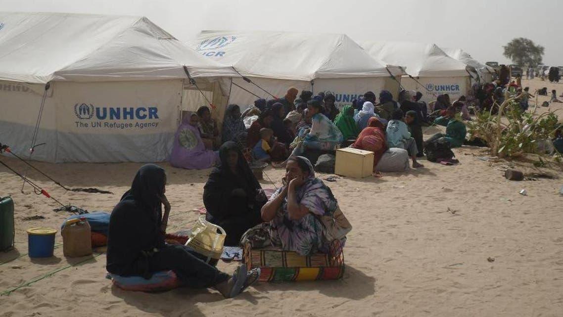 مخيمات اللاجئين الماليين جنوب البلاد