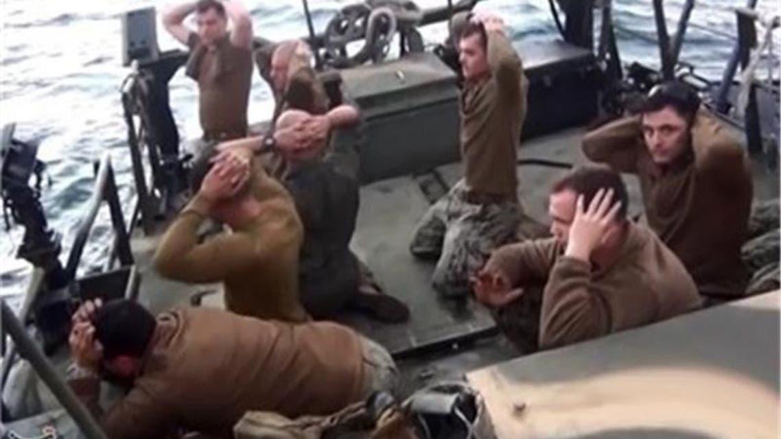احتجاز البحارة الامريكيين